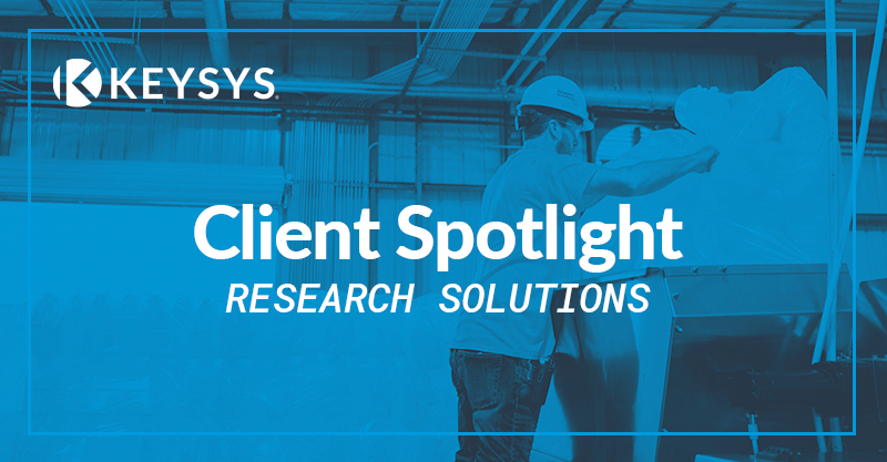 Client Spotlight: Research Solutions