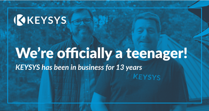 KEYSYS celebrates 13 years in business