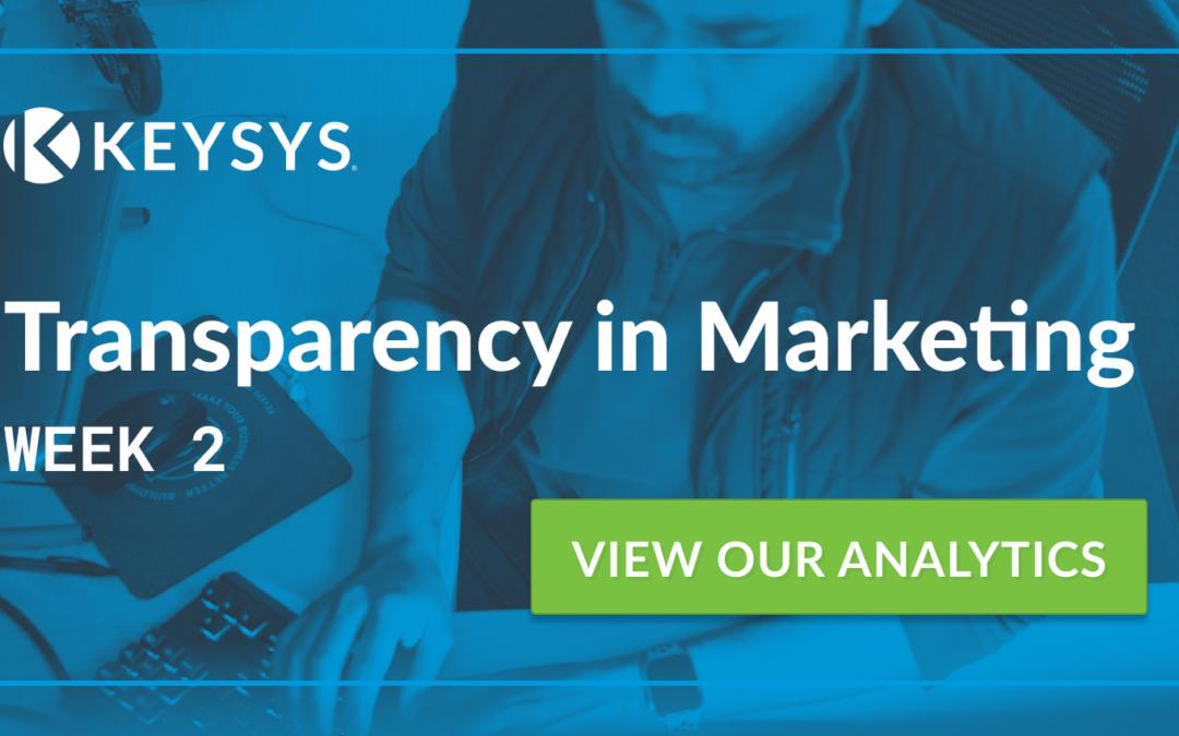Transparency in Marketing (Week 2)