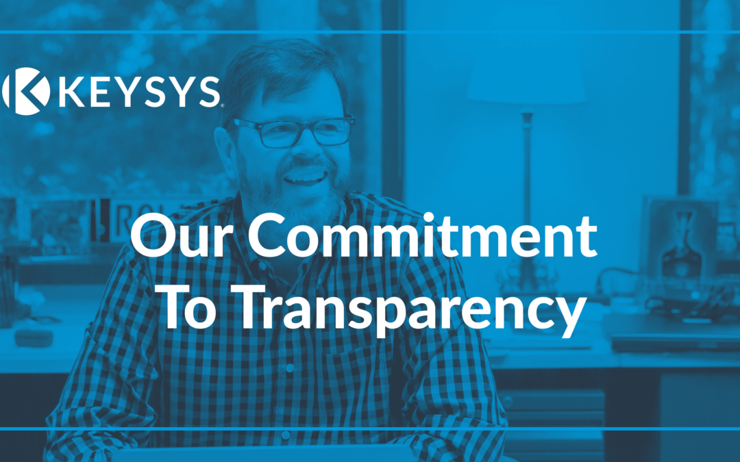 Our Commitment To Transparency
