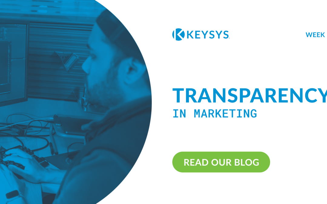 Transparency in Marketing (Week 5)