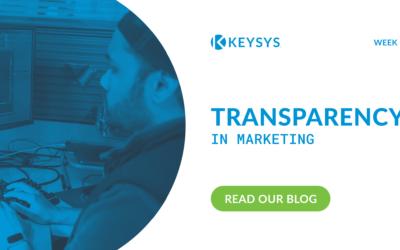 Transparency in Marketing (Week 5)