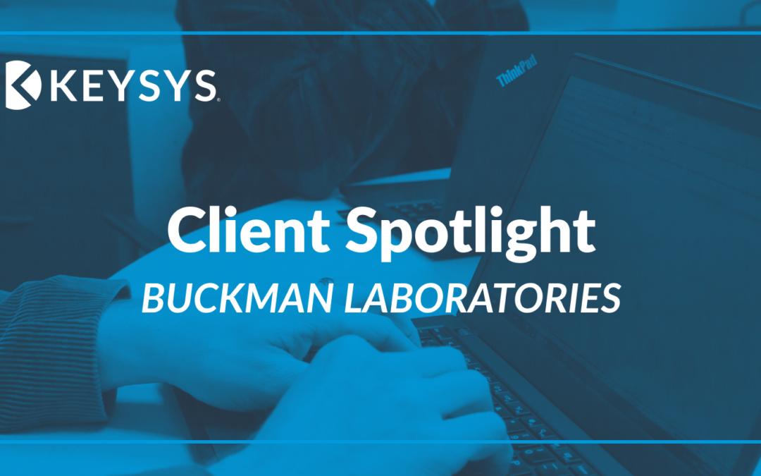 Client Spotlight : Buckman Laboratories International