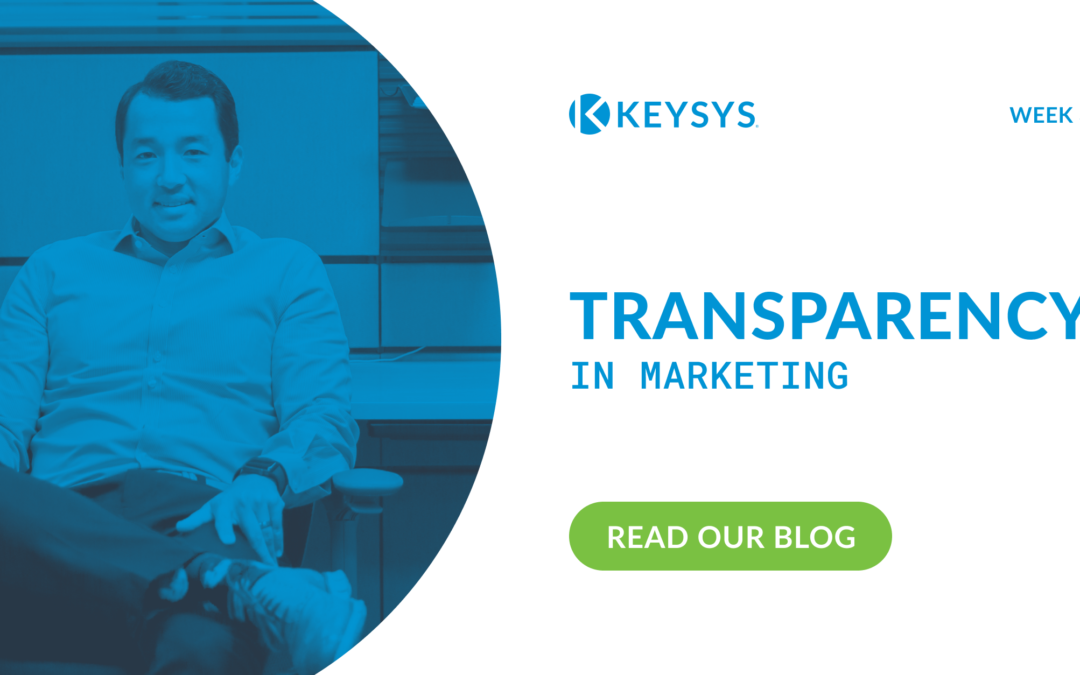 Transparency in Marketing (Week 3)