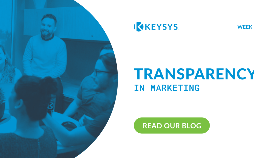 Transparency in Marketing (Week 4)