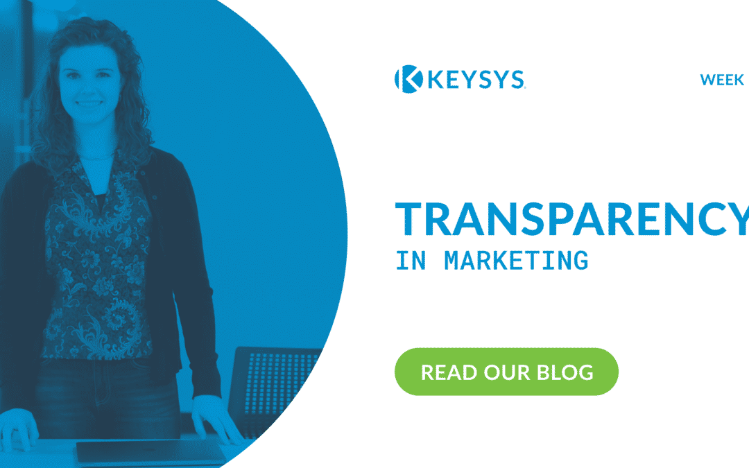 Transparency in Marketing (Week 7)