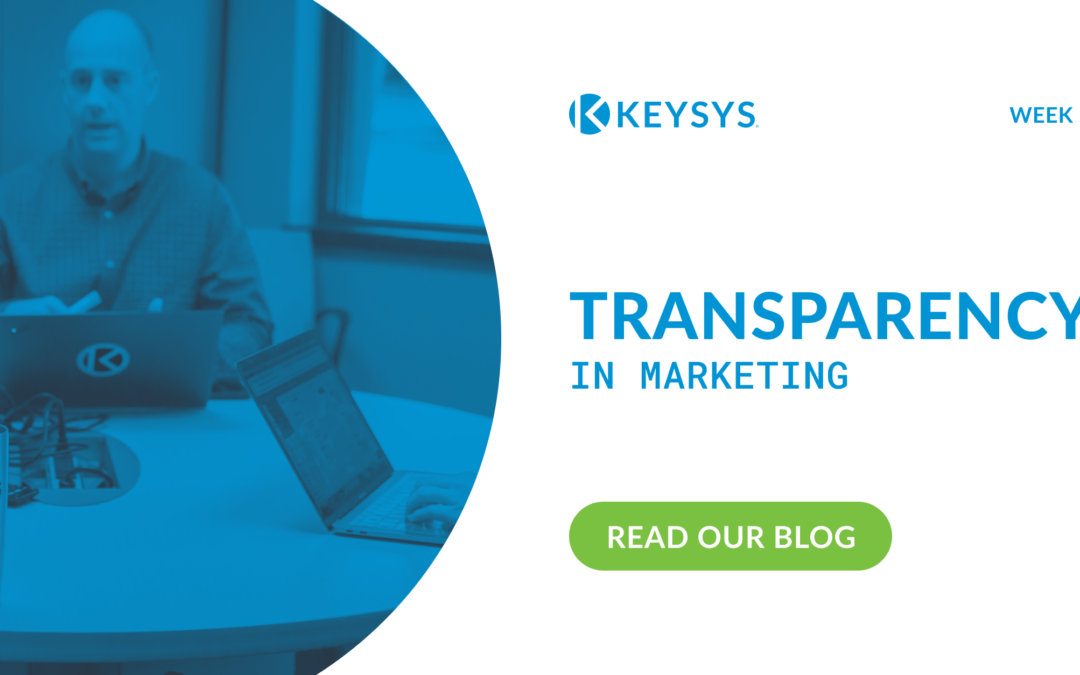 Transparency in Marketing (Week 6)