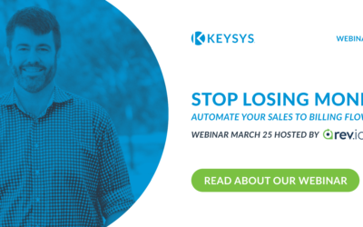 Stop Losing Money: Automate Your Sales To Billing Flow (Webinar March 25)