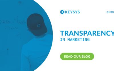 Transparency in Marketing (Q1 Recap)