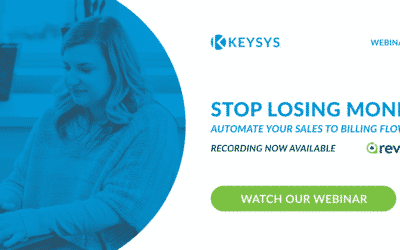 Stop Losing Money: Automate Your Sales To Billing Flow (Webinar Recording)