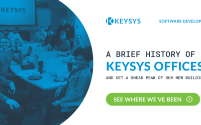 A Brief History of KEYSYS' Offices